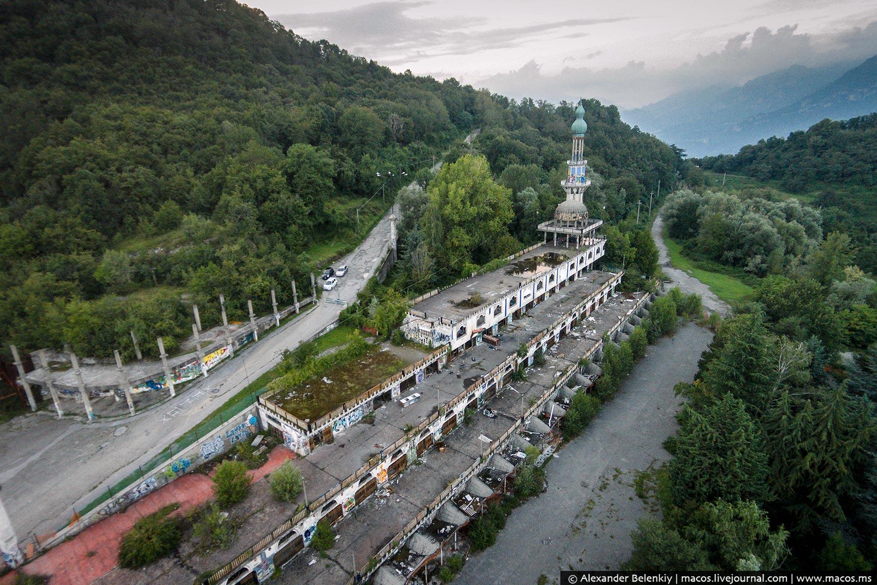 Жуткое место на севере Италии