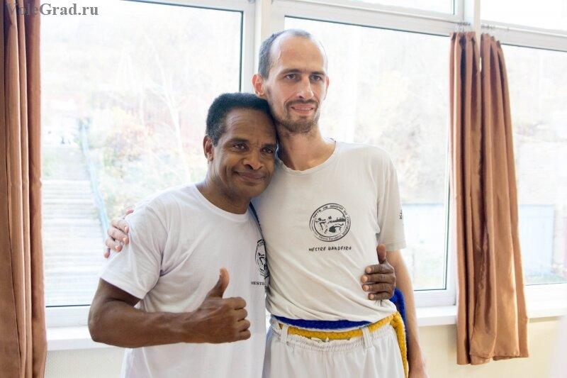 Семинар с бразильским мастером Mestre Bandeira