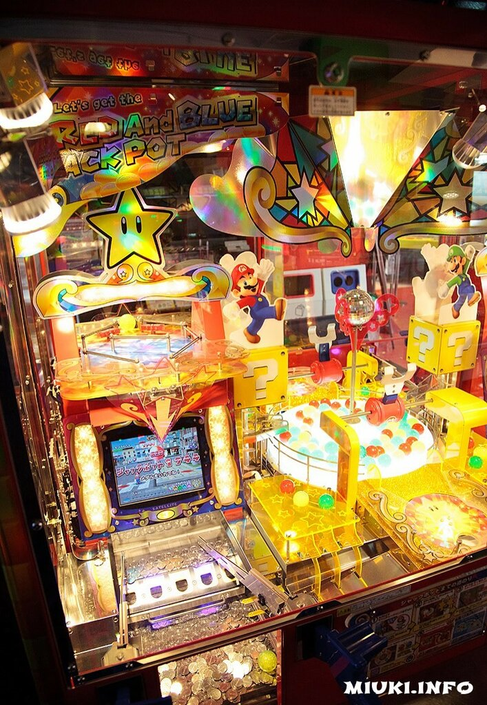 Игровой автомат Супер Марио