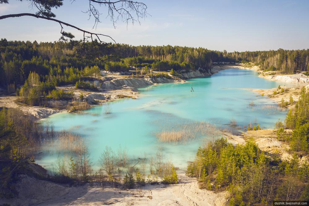 голубое озеро на урале фото кожи это