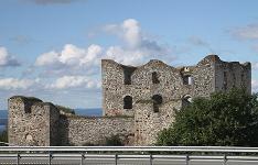 Южная Швеция. Развалины замка Брахехус