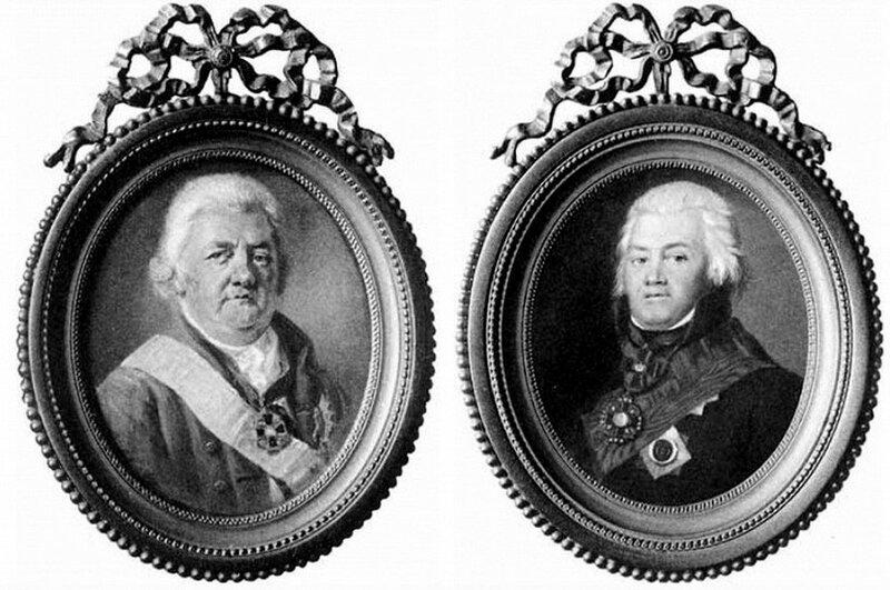 Портреты братьев Архаровых
