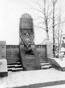 Памятник скульптору Марку Матвеевичу Антокольскому.