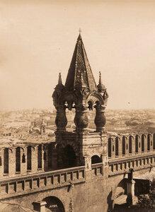 Вид Царской башни Кремля. Москва г.