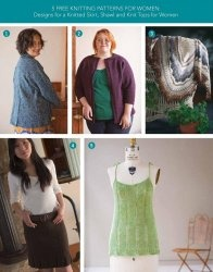 Книга 5 Free Knitting Patterns For Women  Designs for a Knitted Skirt, Shawl, and Knit Tops for Women