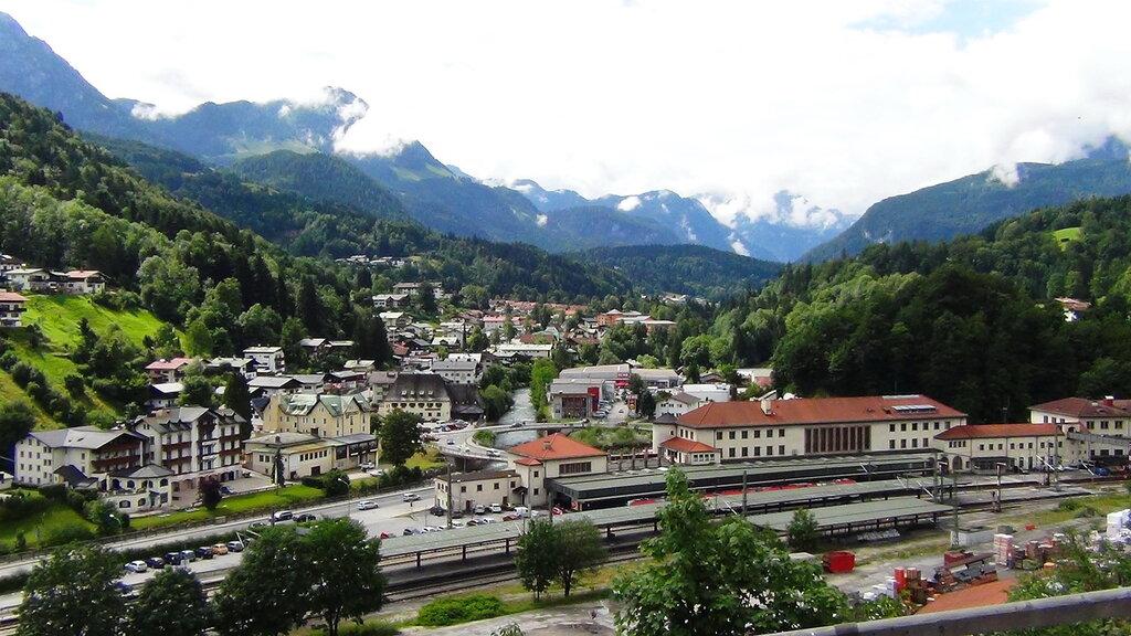 Альпийский автопробег с Сусаниным (часть 7-я)  Рамзау и Берхстенгаден