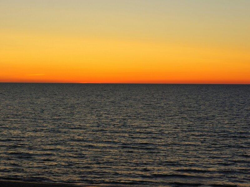 После заката солнца