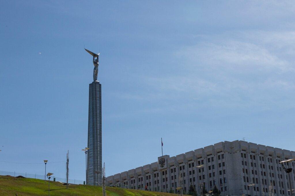 Монумент Славы на площади Славы, Самара