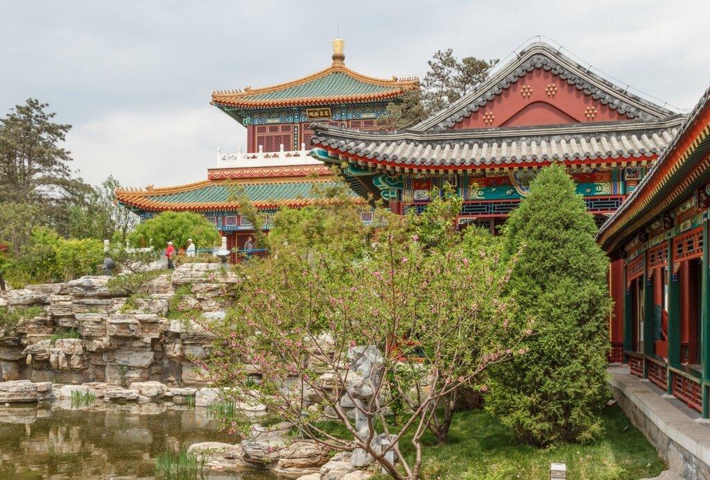 Пекинский сад, Парк-выставка садов