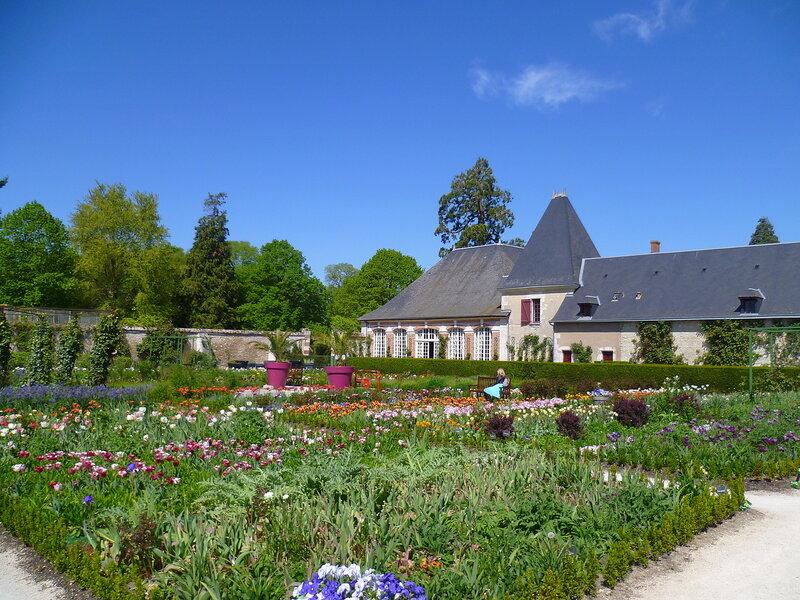 Около замка Шеверни, Франция (Near the castle of Cheverny, France)
