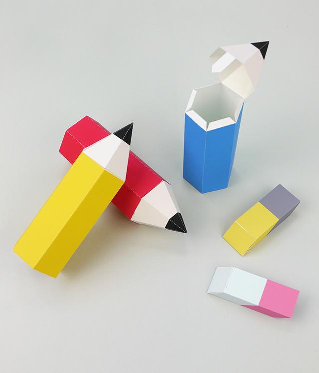 Карандаш из бумаги