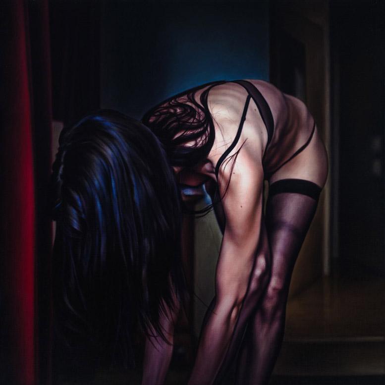 работы художника Дэмиэна Лёба / Damian Loeb - Strange (2011)