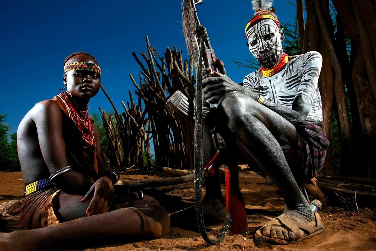 Дикари с автоматами на снимках фотографа из ЮАР Brent Stirton (1)
