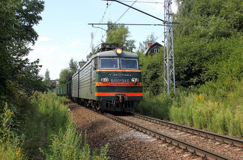 ЭД4М-0382 у платформы Фабрика 1-го Мая