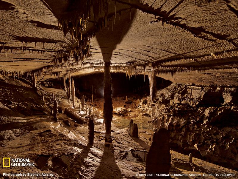 Пещера в Алабаме