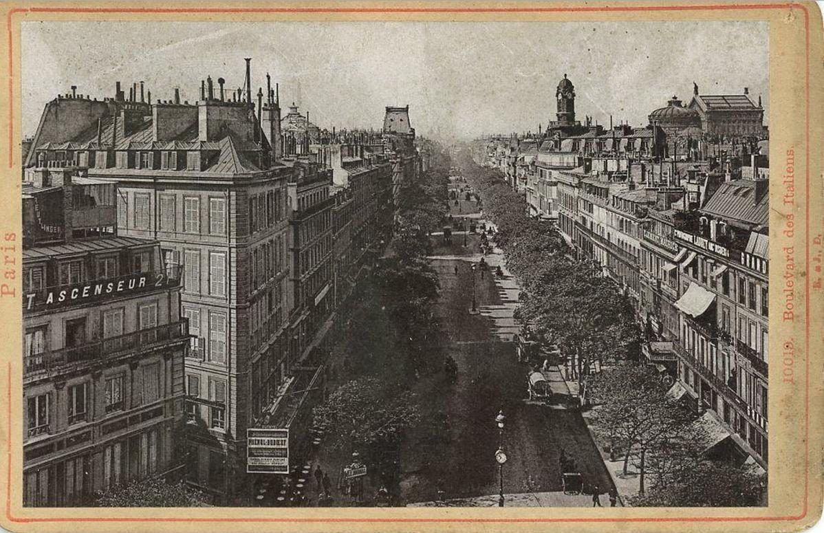 1900-е. Итальянский бульвар