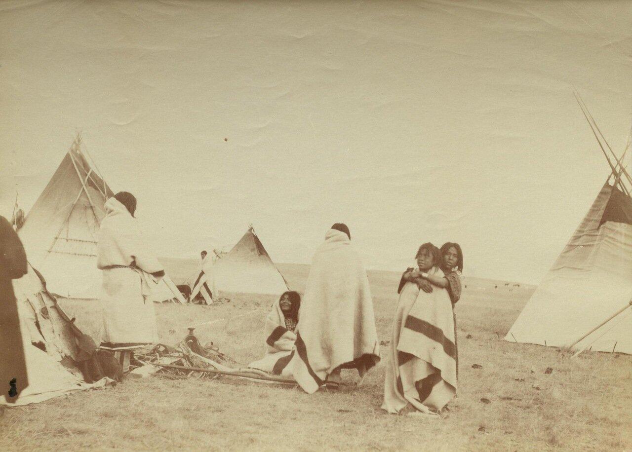 Скво племени «черноногих»
