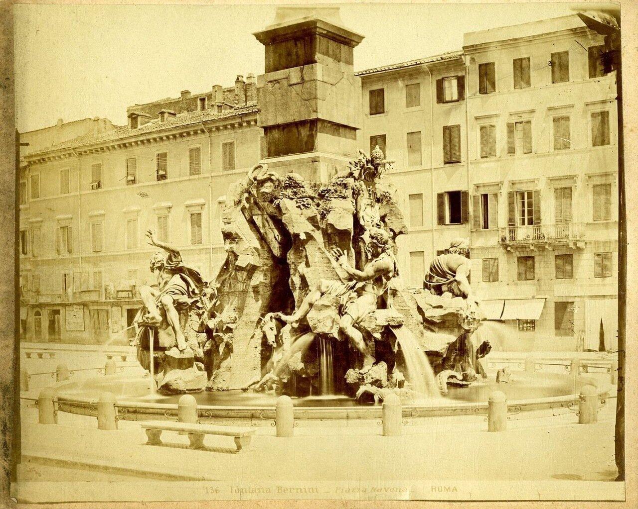 Фонтан Бернини. 1875