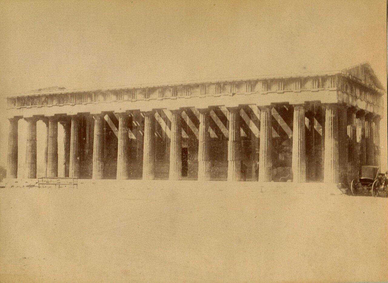 1875. Акрополь. Храм Тесея