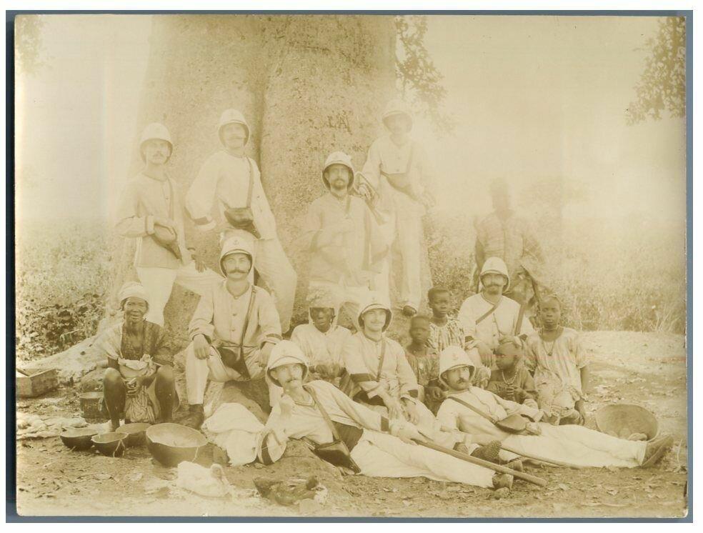 Сержант, командир дисциплинарного батальона в Дакаре. 1895.