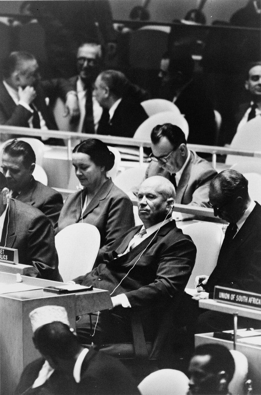 1960. Хрущев в Организации Объединенных Наций