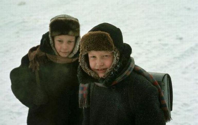 Иркутские школьники 1967