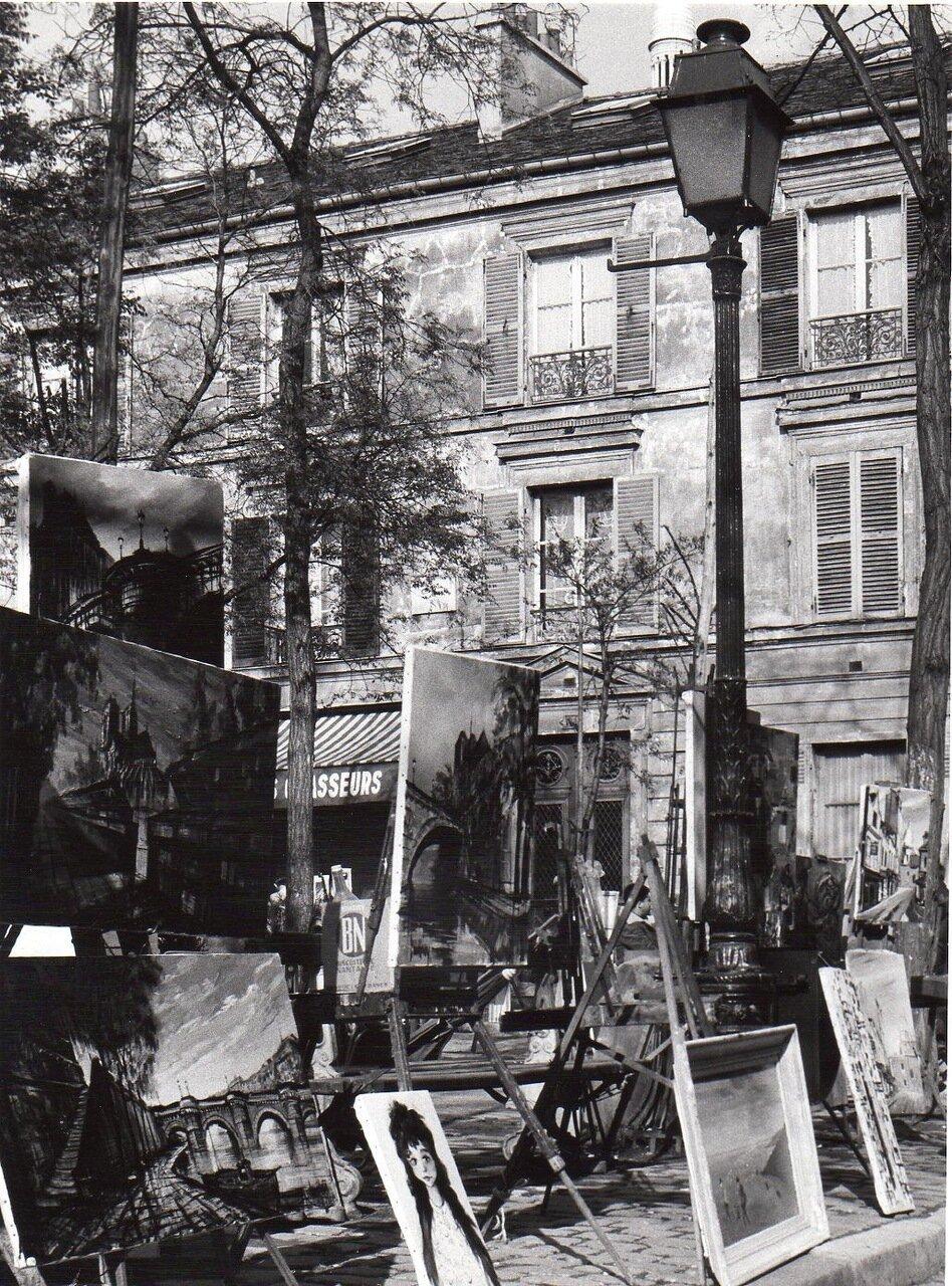 Картины на Монмартре