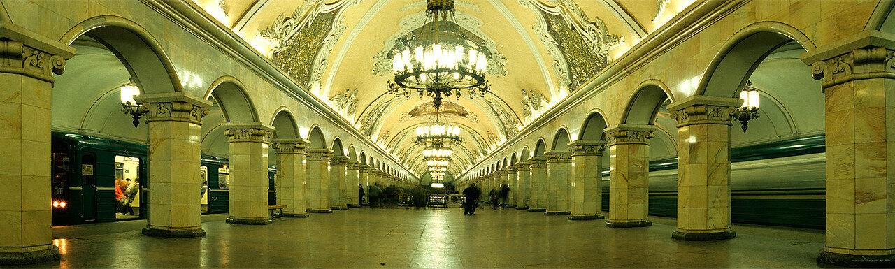 1986. Станция метро Комсомольская