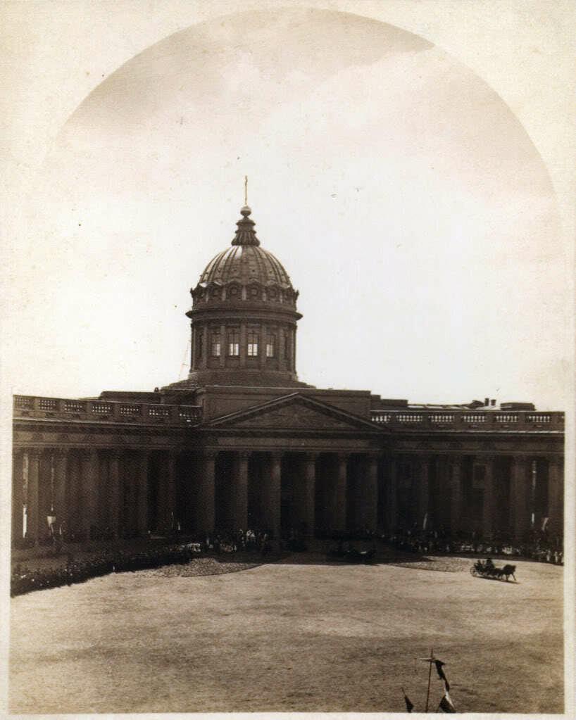 Казанский собор,1880-е