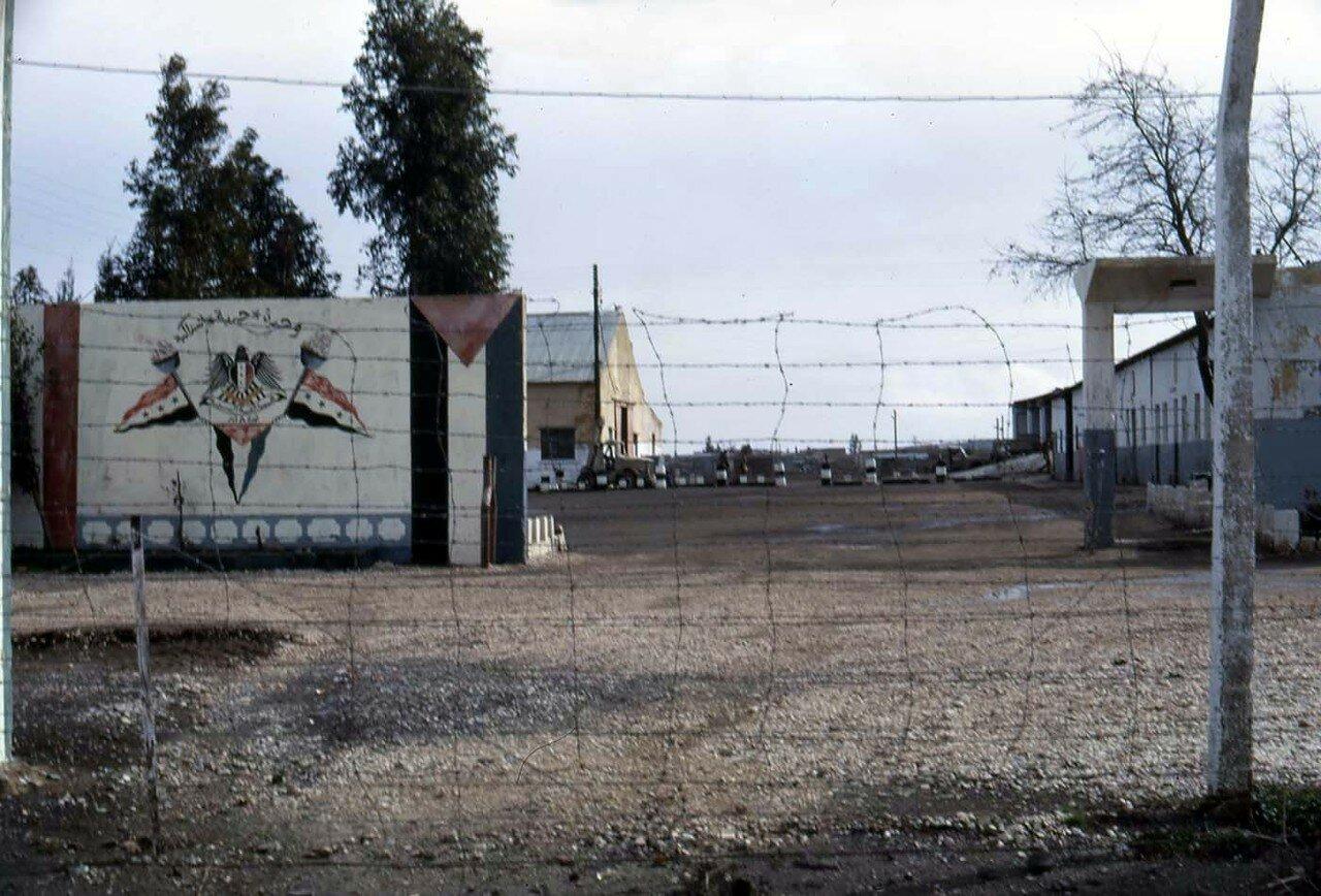 Брошенная сирийская база