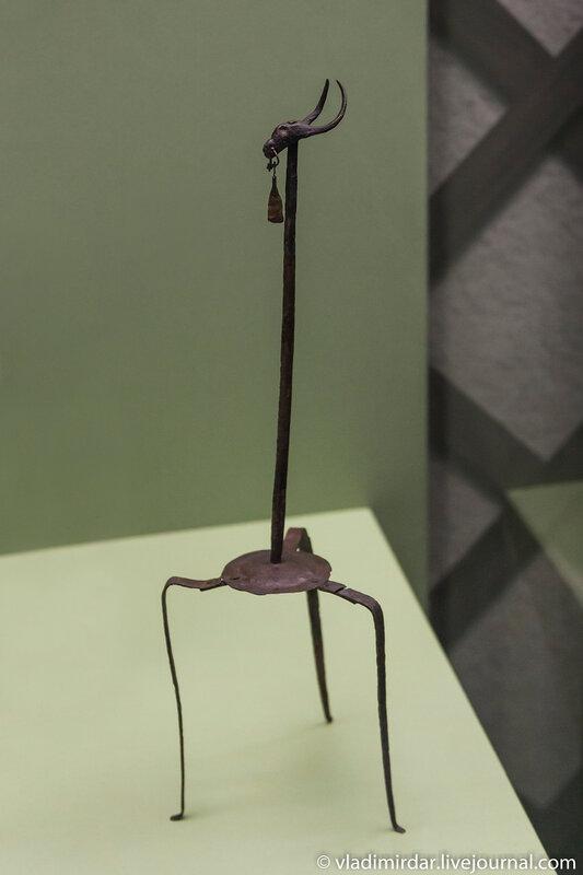 Канделябр. Бронза. I-II век. Кубанская область.