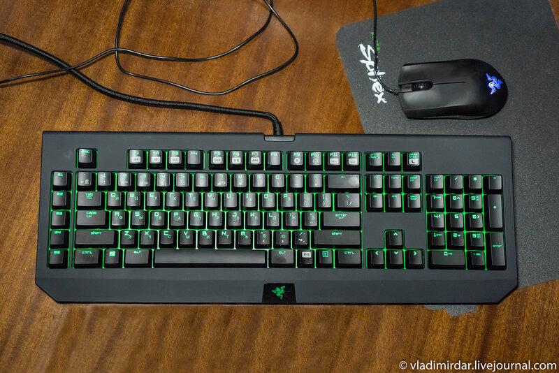 Механическая клавиатура Razer BlackWidow Ultimate Stealth