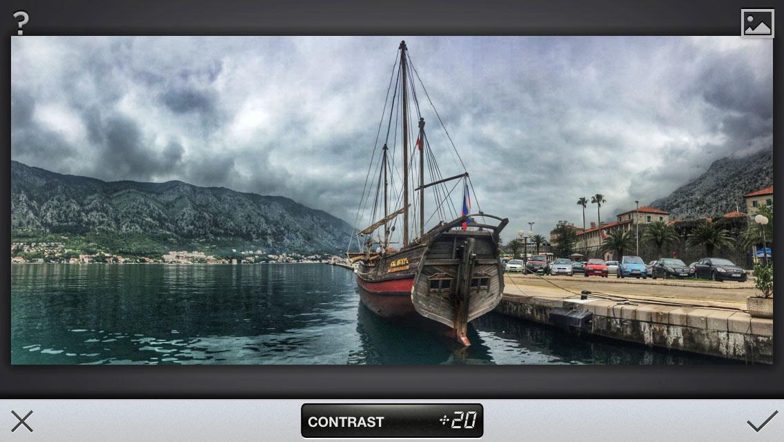 Обработка в Snapseed для инстаграмма