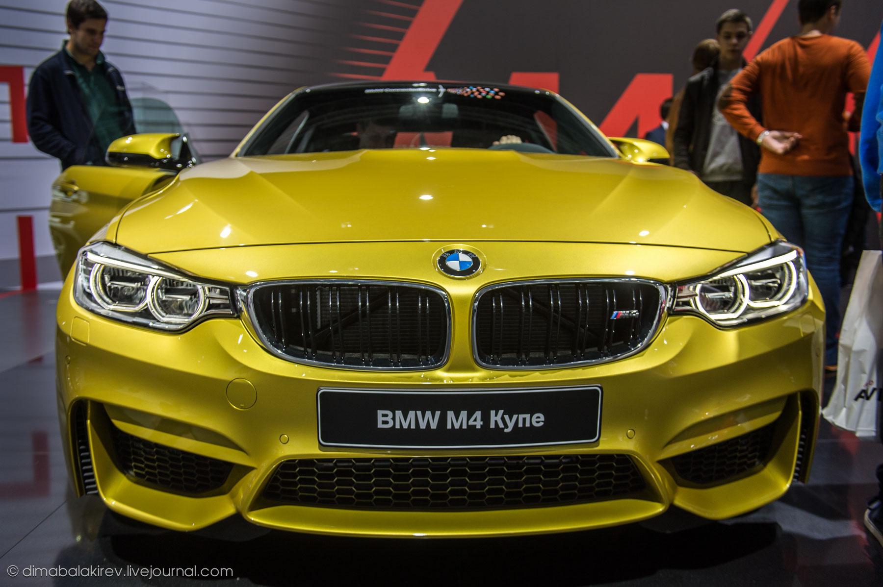 bmw i8 на московском автосалоне 2014
