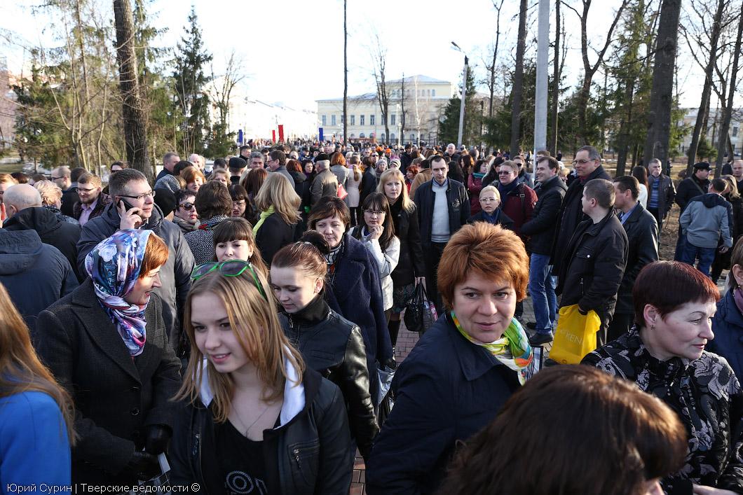 Крым, Севастополь, митинг, Тверь, Крымнаш, Крым наш