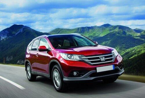 Россияне выбирают кроссоверы и внедорожники Honda
