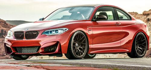 BMW оснастит модель M2 мощным двигателем