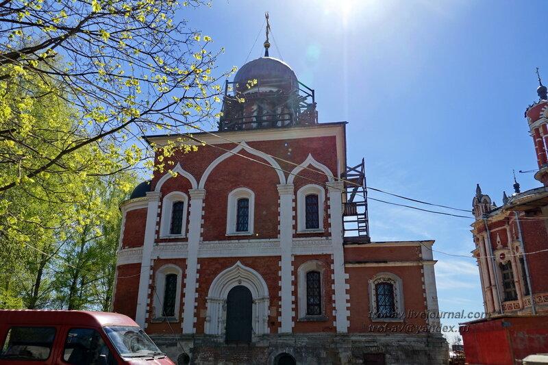 Церковь Петра и Павла (Старо-Никольский собор, Петропавловский собор), Можайский кремль