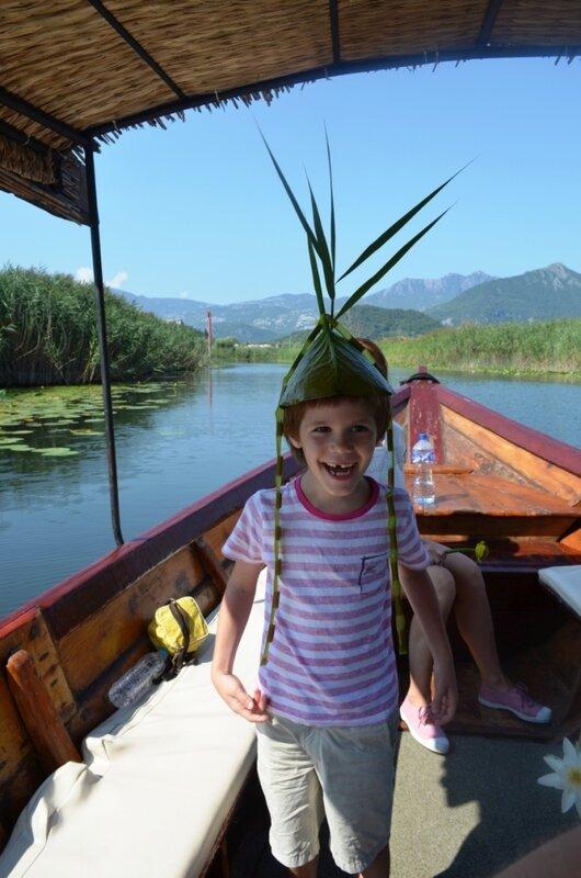 Скадарское озеро, прогулка на лодке