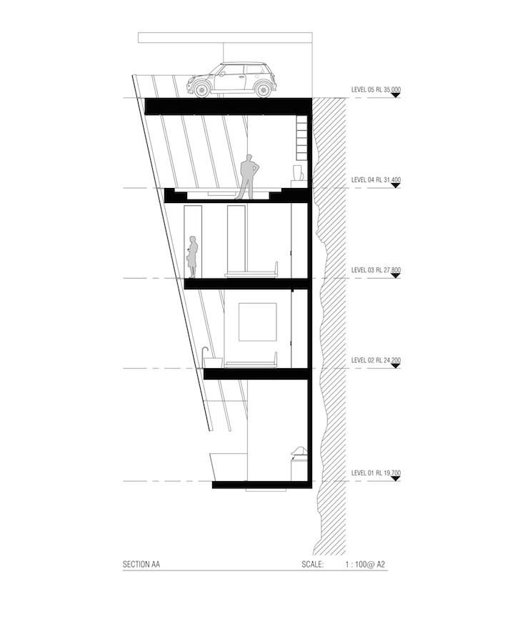 Модульный дом на скале - жилье для экстремалов