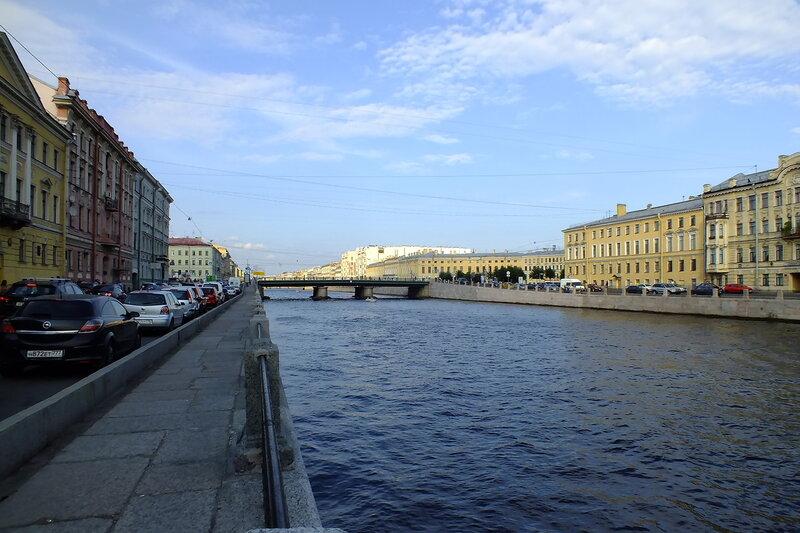 Семеновский мост в санкт петербурге фото