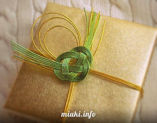 Мидзухики — японское искусство завязывания шнуров