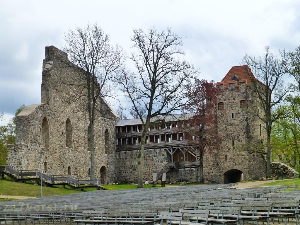 Сигулдский замок Ливонского ордена (Сигулда, Латвия)