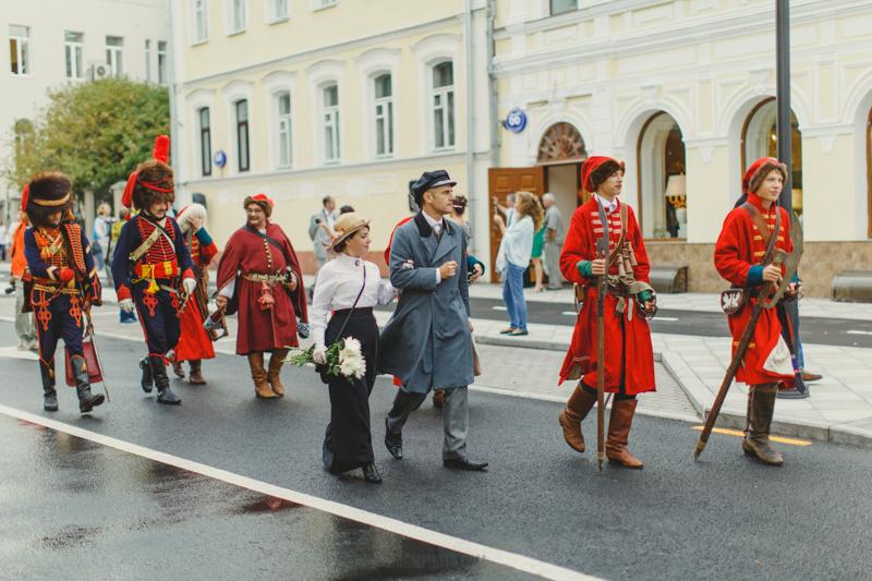 Парад эпох в Замоскворечье. Открытие Пятницкой улицы