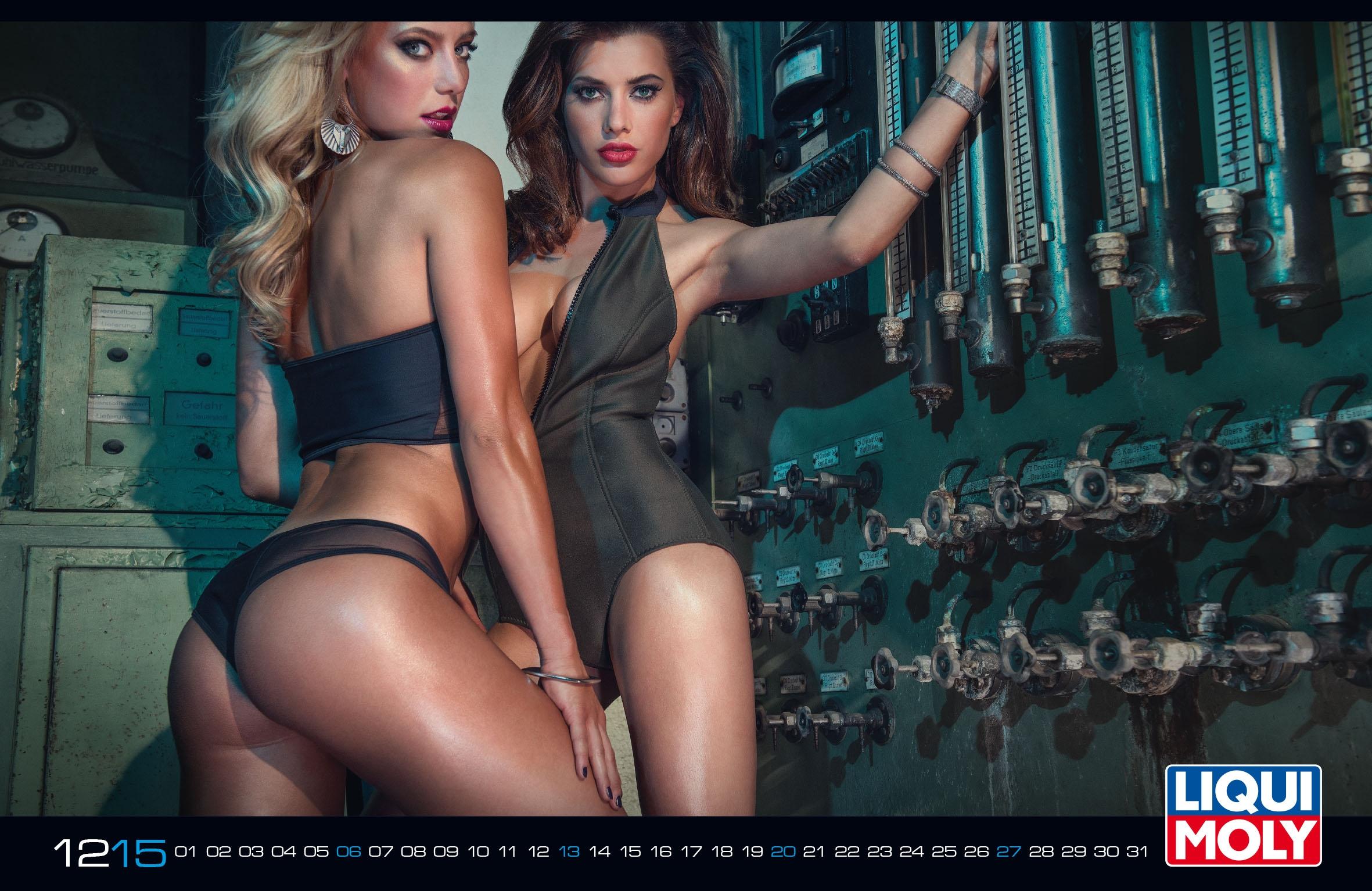 Календарь 2015 Liqui Moly