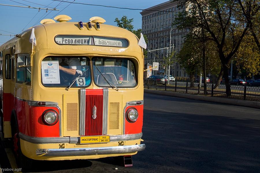 Парад ретроавтобусов