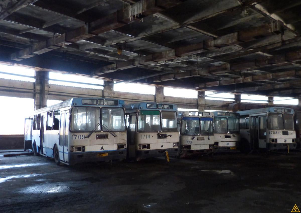 Автобусный парк №7 в Киеве