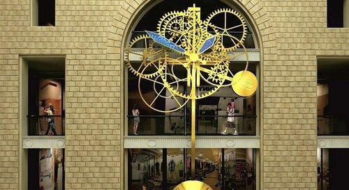 Самые большие механические часы