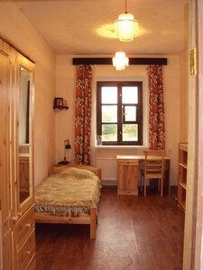 Жилая комната-келья насельницы монастырской богадельни.