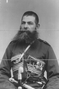 Урядник конвоя  (портрет).
